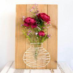 Michaels floral string vase