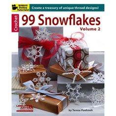 Leisure Arts-99 Snowflakes, Volume 2