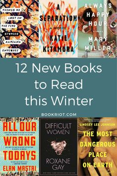 12 New Books to Read Winter 2017