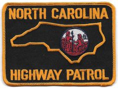Nice North Carolina Highway Patrol Patch New | eBay