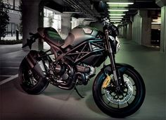 ' m fall in love wit  Diesel x Ducati Monster