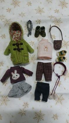 by Sun Joo Dee Doll Crafts, Diy Doll, Clay Dolls, Doll Toys, American Doll Clothes, Doll Wardrobe, Rement, Asian Doll, Barbie Patterns