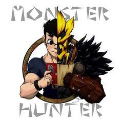 Monster Hunter Shirt Logo