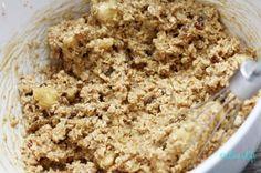 galletas de avena en un minuto- preparación