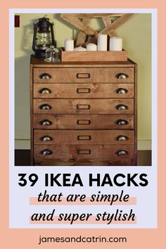 These Ikea hacks are super stylish and will improve the look of your home. #ikeahacks Ikea Furniture Hacks, Cheap Furniture, Furniture Design, Home Decor Styles, Diy Home Decor, Living Etc, Best Ikea, Ikea Home, Ikea Ideas