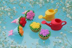Flower/Garden Erasers
