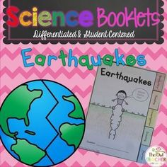 This is a great way to teach earthquake concepts when you have very little time.  These tabbed booklets are focuses on vocabulary, a nonfiction reading piece with comprehension questions, an investigation to deepen understandings, drawing and answering a thought provoking journal prompt.  $