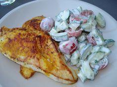 Els Kookt: Gebakken kip met komkommersalade