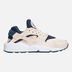 9af75fe8d49e Right view of Women s Nike Air Huarache Running Shoes in Light Orewood  Brown Armory Navy