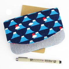 Image of Zip Pocket Pouch Wristlet PDF Sewing Pattern