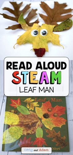 Fall Leaf STEAM Activity: In this Fall Leaf Man STEM challenge, students design their very own leaf animal! An excellent companion activity to the fall read aloud book Leaf Man by Lois Elhert. Journey outside this fall and collect some leaves! Students ca Steam Activities, Autumn Activities, Fall Preschool, Preschool Crafts, Stem Learning, Outdoor Learning, Leaf Man, Leaf Animals, Coding For Kids
