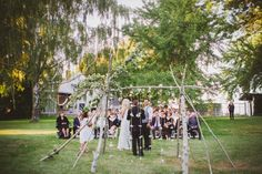 Lindsay and Cody�s Intimate and Meaningful Country Boho Style Wedding by Melissa McFadden
