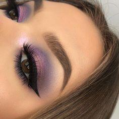 Gorgeous Makeup: Tips and Tricks With Eye Makeup and Eyeshadow – Makeup Design Ideas Purple Eye Makeup, Smokey Eye Makeup, Makeup For Brown Eyes, Eyeshadow Makeup, Maybelline Eyeshadow, Eyeshadow Palette, Copper Eyeshadow, Bright Makeup, Shimmer Eyeshadow