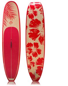 11 foot bamboo paddle board |Creed SUP Talon Model - Red Veg