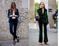 Prendas de la temporada: pantalón de terciopelo