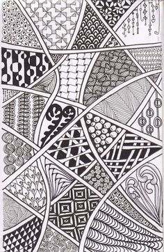 Zentangle Sampler – Patterns and Starter Pages – Agli Doodle Art Drawing, Zentangle Drawings, Zentangle Patterns, Art Drawings, Drawing Ideas, Zen Doodle Patterns, Doodle Borders, Flower Drawings, Doodles Zentangles