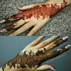 Spiral easy and beautiful mehndi Finger Henna Designs, Mehndi Designs 2018, Modern Mehndi Designs, Mehndi Design Pictures, Mehndi Designs For Girls, Wedding Mehndi Designs, Beautiful Mehndi Design, Henna Tattoo Designs, Mehandi Designs