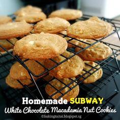 Resepi White Chocolate Macadamia Cake