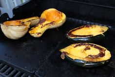Squash and Root Veggies do well on the GrillingStone, just turn down the heat and let them steam.