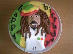 Gâteau Bob Marley, coco/passion