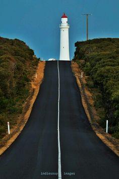 Cape Nelson Lighthouse, Portland Victoria Australia.