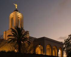 Newport Beach Temple!   The Church of Jesus Christ of Latter-Day Saints! :)