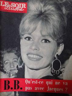 Le soir illustré n° 1472 / brigitte bardot - colette renard - festival de venise • EUR 9,99 • PicClick FR