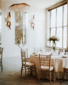 Soft wedding decor