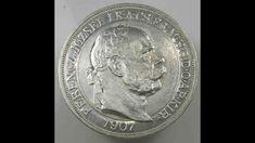 Austria Hungary 5 Korona 1907 K B Coronation of Franz Joseph Silver Hungary, Austria, Joseph, Coins, Silver, Ebay, Rooms, Money