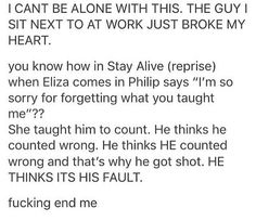 This starts out and you think there's been like something in real life. Like a break up. Then it just goes to Hamilton And I realize why they're sad Alexander Hamilton, Phillip Hamilton, Hamilton Lin Manuel Miranda, Nos4a2, Hamilton Fanart, Def Not, Hamilton Musical, Hamilton Broadway, What Is Your Name