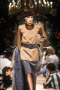 Yves Saint Laurent | Fall 1984