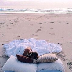 Our kind of camping || Nothing better than waking up to the waves
