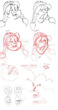 Character Expressions 02 by ~basakward on deviantART