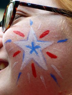 4th of july face painting ideas - Google Search