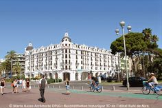 HOTEL RUHL NICE EN 3D France, Nice, Louvre, Street View, Places, Buildings, Travel, 3d, Antique Post Cards