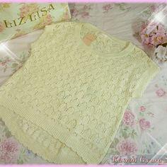 Liz lisa lace knit sleeveless sweater (nwt)