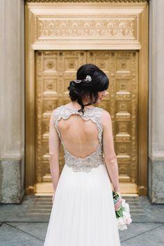 Wedding Dress: Jenny Packham   - HarpersBAZAAR.com