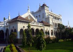 AgaKhan Palace in Pune, India ~ it served as a prison for Mahatma Gandhi, his wife Kasturba Gandhi, his secretary Mahadev Desai and Sarojini Naidu. It is also the place were Kasturba Gandhi and Mahadev Desai breathed their last breath in 2003