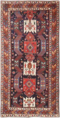 Antique Caucasian Kazak Rug 47070 Nazmiyal - By Nazmiyal