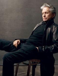 #Annie Leibovitz Photography #Michael Douglas 2010