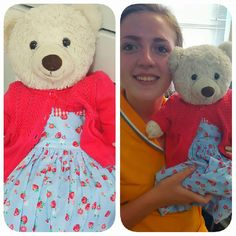 Found on 04 Jul. 2016 @ Menorca airport, Carretera San Clemente, s/n, 07712 . This teddy bear wanted to stay on holiday longer in Menorca. Pollyanna's (as locally known as) mummy or daddy we believe have gone back to the UK, and she was found in Menorca Aiprort Visit: https://whiteboomerang.com/lostteddy/msg/pmzwjm (Posted by Chloe on 06 Jul. 2016)