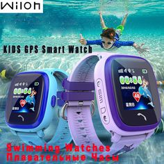 Waterproof GPS Tracker Watch For Kids Swim touch screen SOS Emergency Call Location smart watch Wearable Devices for Smart - My Alpha Store Stylish Watches, Cool Watches, Children's Watches, Gps Tracker Watch, Child Phone, Remote Camera, Emergency Call, Wearable Device, Kids Swimming