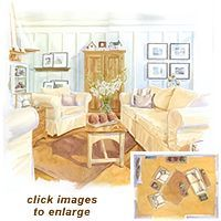 Great article on how to arrange furniture in a room.