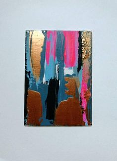 25% off all pieces to celebrate the new year!! Abstract paintings by Dee Robson www.littleartlondon.etsy.com