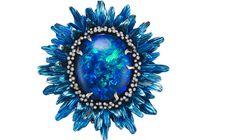 CHOPARD Fleurs d'Opales black Opal Ring 2