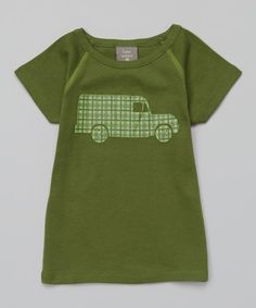 Love this Basil Truck Organic Tee - Infant, Toddler & Boys on #zulily! #zulilyfinds