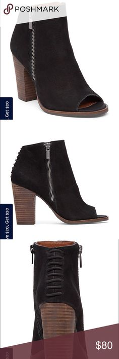 Lajima Lucky Brand  Black Bootie NEW WITH TAGS Lucky Brand Shoes Ankle Boots & Booties
