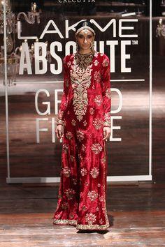 Sabyasachi | Lakmé Fashion Week winter/festive 2016 #Sabyasachi #LFWWF2016 #PM