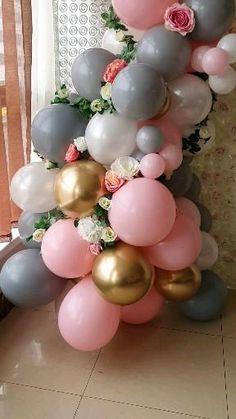 Wedding Balloon Decorations, Birthday Balloon Decorations, Wedding Balloons, Diy Party Decorations, Birthday Balloons, Baby Shower Decorations, Decoration Ideas For Birthday, Balloon Table Centerpieces, Balloon Arrangements