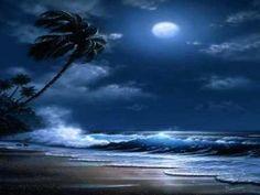 Moonlight on the ocean Beautiful Nature Wallpaper, Beautiful Moon, Beautiful Landscapes, Seascape Paintings, Landscape Paintings, Landscape Photography, Nature Photography, Photography Tips, Wedding Photography
